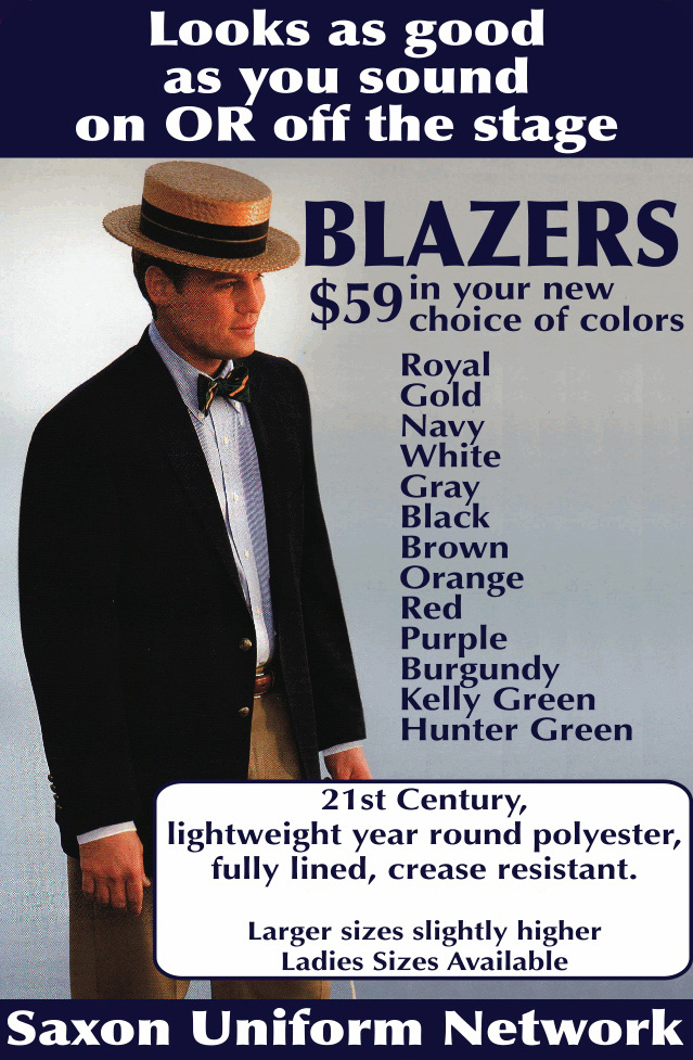 blazer and sportcoats color swatches