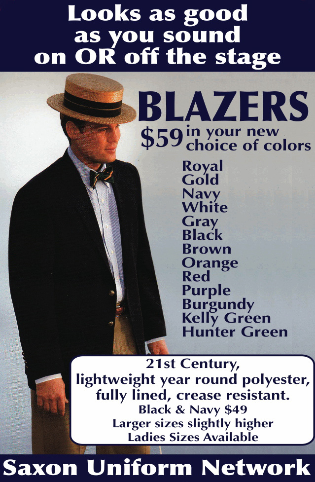 blazers in color