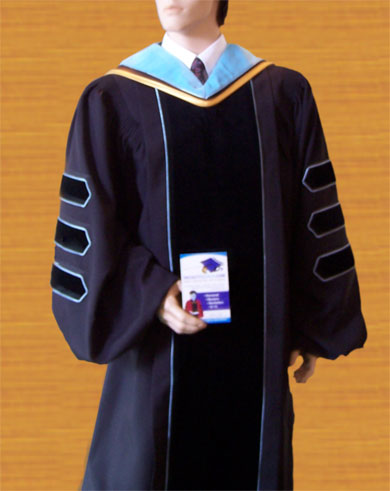 Order Form For Phd And Doctoral Graduation Gowns And