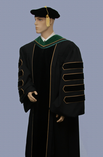 Order form for Phd and doctoral graduation gowns and academic attire