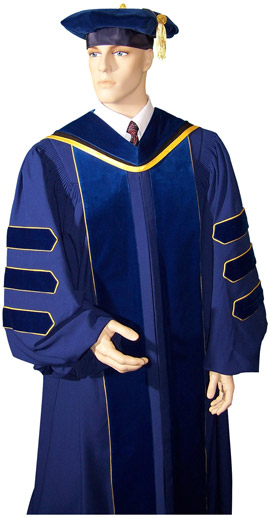 custom made PhD gowns